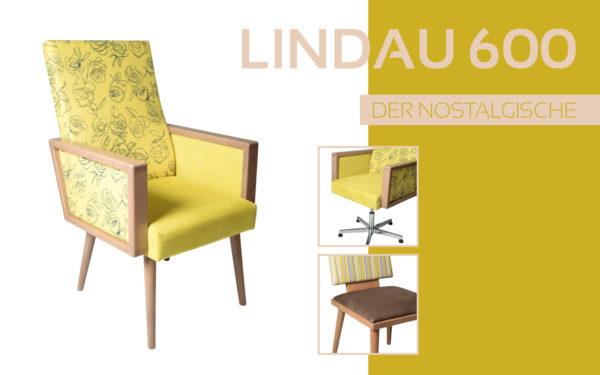 Göhler Sitzmöbel GmbH - Sitzmöbel für jede Gelegenheit: Modellreihe LINDAU 600