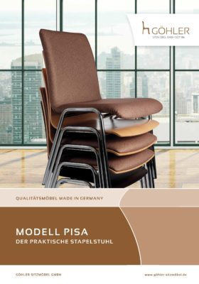 Göhler Sitzmöbel GmbH - Prospekt PISA