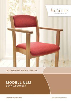 Göhler Sitzmöbel GmbH - Prospekt ULM