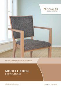 Göhler Sitzmöbel GmbH - Sitzmöbel für jede Gelegenheit: Prospekt EDEN
