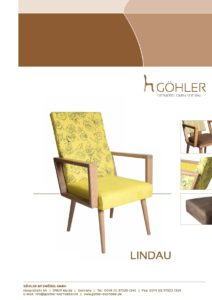 Göhler Sitzmöbel GmbH - Sitzmöbel für jede Gelegenheit: Prospekt LINDAU 600 Stühle