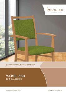 Göhler Sitzmöbel GmbH - Sitzmöbel für jede Gelegenheit: Prospekt VAREL 650