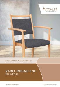 Göhler Sitzmöbel GmbH - Sitzmöbel für jede Gelegenheit: Prospekt VAREL ROUND
