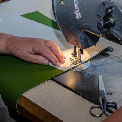 Göhler Sitzmöbel GmbH - Blick in die Produktion: Polsterei