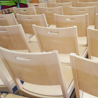 Göhler Sitzmöbel GmbH - Blick in die Produktion: Gestellbau