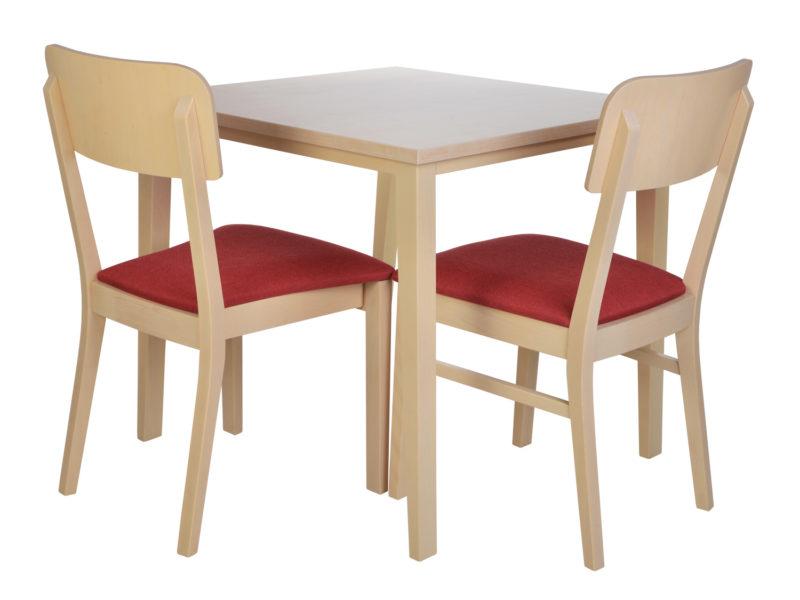 Göhler Sitzmöbel GmbH - CALAIS 381 Stühle und Tisch
