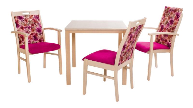 Göhler Sitzmöbel GmbH - Stühle GENF 100 und Tisch