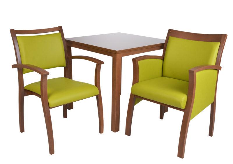 Göhler Sitzmöbel GmbH - Stühle NIZZA 500 und Tisch