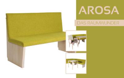 Göhler Sitzmöbel GmbH - Sitzmöbel für jede Gelegenheit: Modellreihe AROSA
