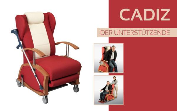 Göhler Sitzmöbel GmbH - Sitzmöbel für jede Gelegenheit: Pflegesessel CADIZ