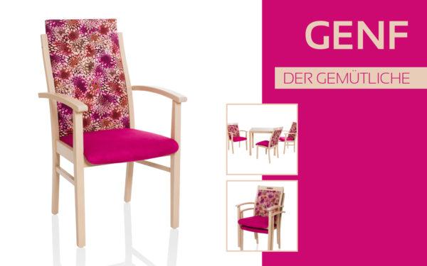 Göhler Sitzmöbel GmbH - Sitzmöbel für jede Gelegenheit: Modellreihe GENF