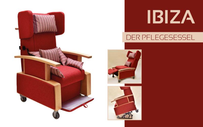 Göhler Sitzmöbel GmbH - Sitzmöbel für jede Gelegenheit: Pflegesessel IBIZA