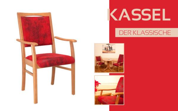 Göhler Sitzmöbel GmbH - Sitzmöbel für jede Gelegenheit: Modellreihe KASSEL