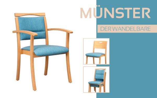 Göhler Sitzmöbel GmbH - Sitzmöbel für jede Gelegenheit: Modellreihe MÜNSTER