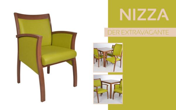 Göhler Sitzmöbel GmbH - Sitzmöbel für jede Gelegenheit: Modellreihe NIZZA