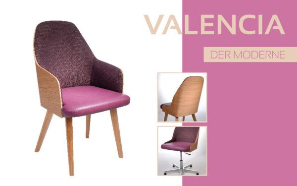 Göhler Sitzmöbel GmbH - Sitzmöbel für jede Gelegenheit: Modellreihe VALENCIA