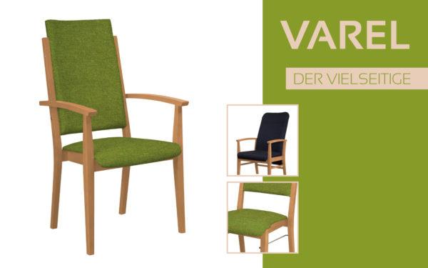 Göhler Sitzmöbel GmbH - Sitzmöbel für jede Gelegenheit: Modellreihe VAREL