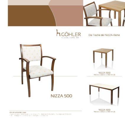 Göhler Sitzmöbel GmbH - Prospekt NIZZA