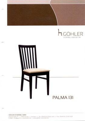 Göhler Sitzmöbel GmbH - Prospekt PALMA