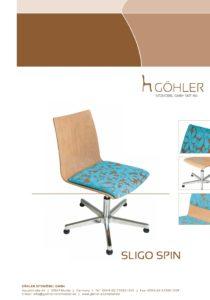 Göhler Sitzmöbel GmbH - Prospekt SLIGO Spin