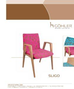 Göhler Sitzmöbel GmbH - Prospekt SLIGO