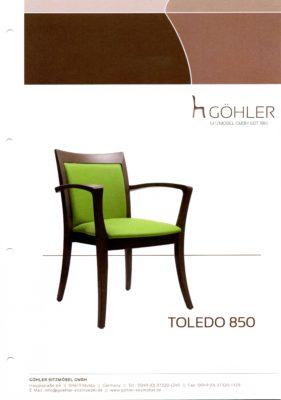Göhler Sitzmöbel GmbH - Prospekt TOLEDO