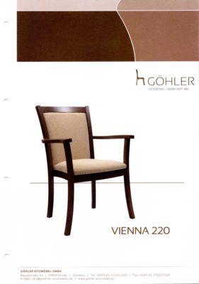Göhler Sitzmöbel GmbH - Prospekt VIENNA