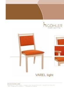 Göhler Sitzmöbel GmbH - Prospekt VAREL light