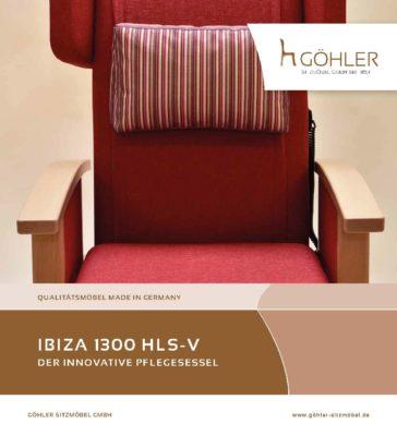 Göhler Sitzmöbel GmbH - Pflegesessel IBIZA 1300 HLS-V