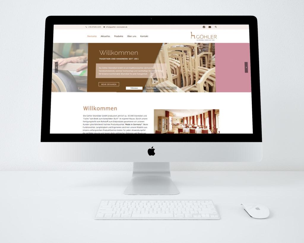 Göhler Sitzmöbel GmbH - neue Website online