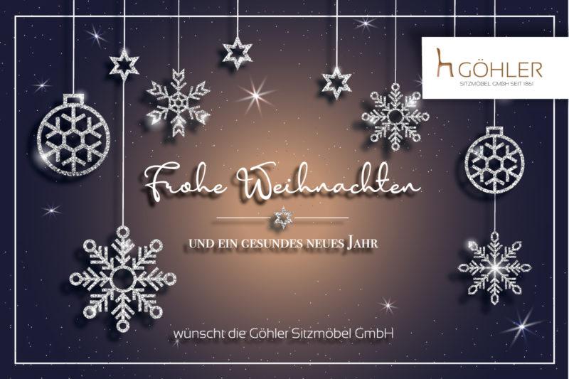 Göhler Sitzmöbel - Weihnachtsgrüße 2020